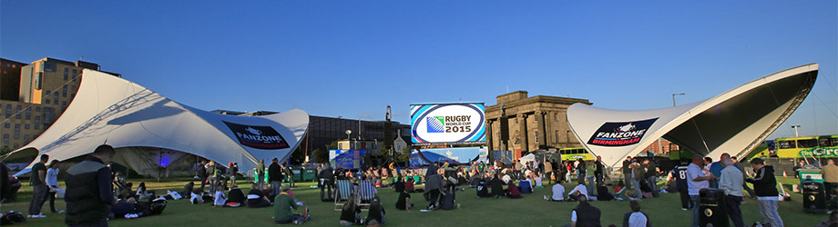 Rugby World Cup Branding