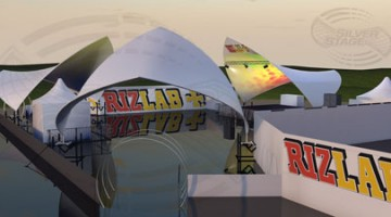 Rizlab Arena at Bestival 2012