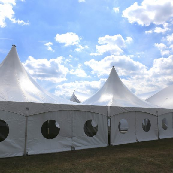 10x10m clearspan marquee perfect outdoor structure with alternative saddle span marquee