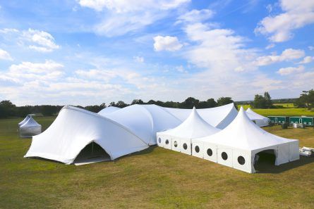 10x10m clearspan marquee perfect outdoor structure with alternative saddle span