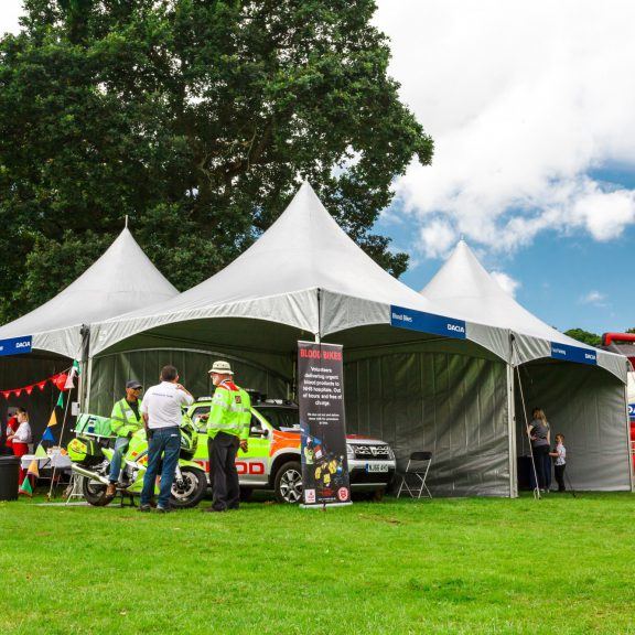5mx5m clearspan marquee perfect outdoor structure
