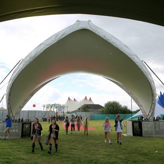 S2000 saddlespan canopy perfect for Festival structures