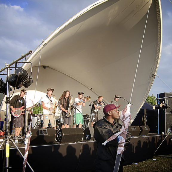 S500 MiniSpan concert outdoor festival stage