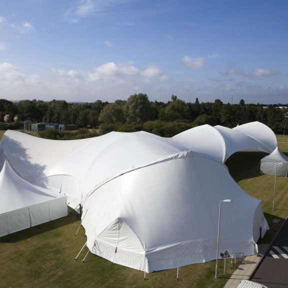 10x10m clearspan marquee perfect outdoor structure with alternative Trispan saddle span marquee