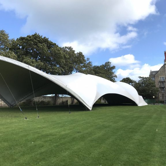 S5000 Duospan saddlespan Concert perfect outdoor temporary structure