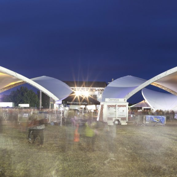 S5000 Saddlespan outdoor event structure