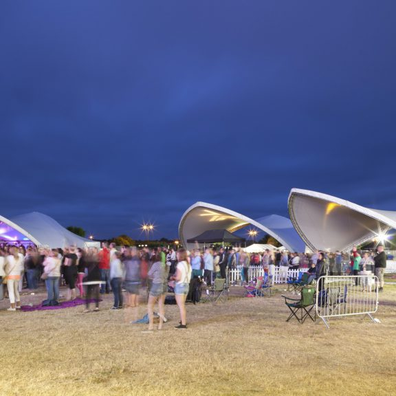 S5000 Saddlespan outdoor event structures for crowd cover