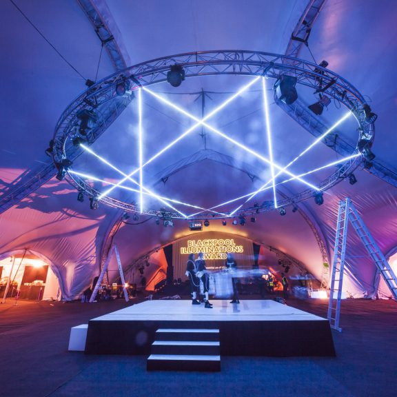 S5000 Triad Saddlespan closed perfect party outdoor temporary event structure