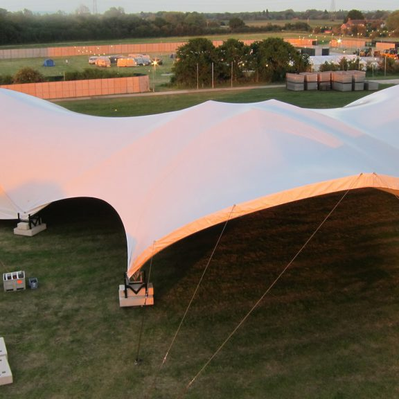 S5000 Trispan saddlespan concert perfect festival temporary outdoor structure