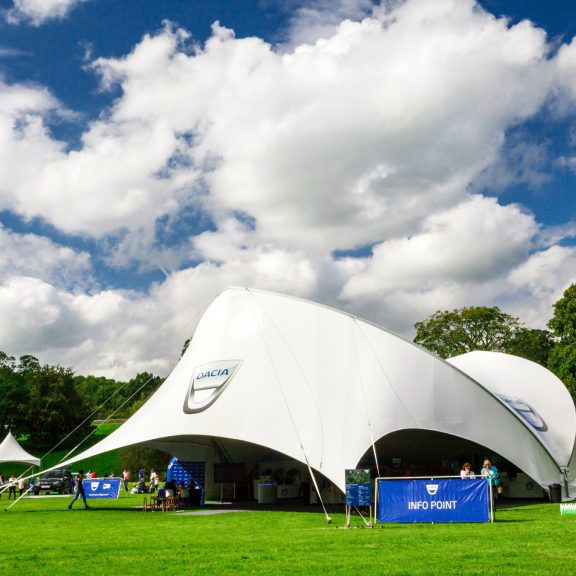 S5000SL Saddlespan outdoor event structure Opera end