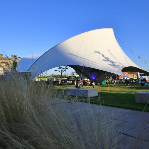 S5000SL Saddlespan outdoor sports structure for the rugby world cup