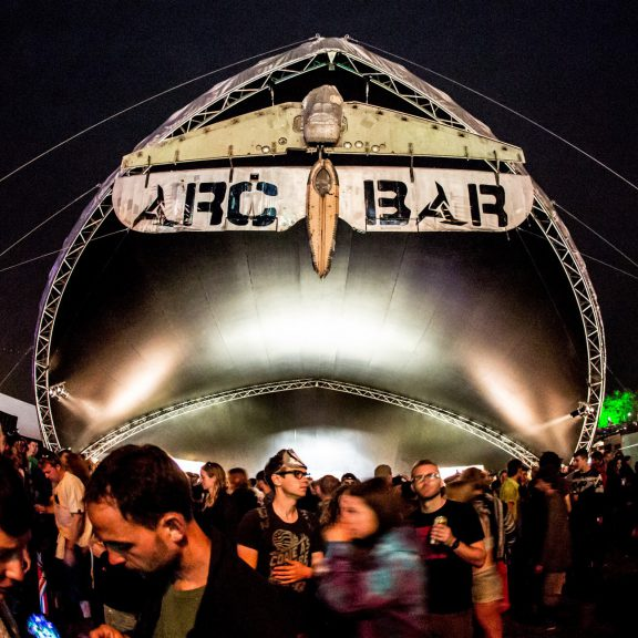 S5000SL Saddlespan as The Arc Bar a perfect outdoor event structure